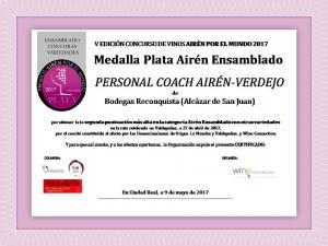 Medalla Plata Ensamblado